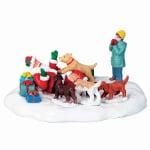 Lemax - Puppies Love Santa