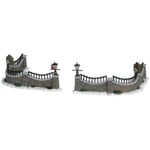 Lemax - Stone Wall - Set of 6