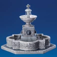Lemax - Modular Plaza-Fountain With 4.5V Adaptor