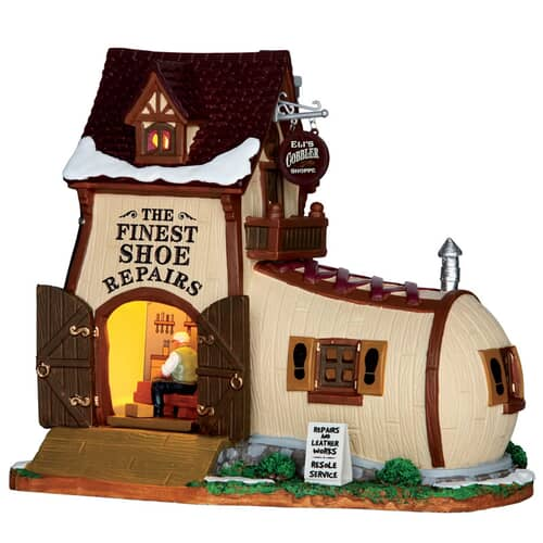 Lemax - Elis Cobbler Shoppe Battery Operated Led