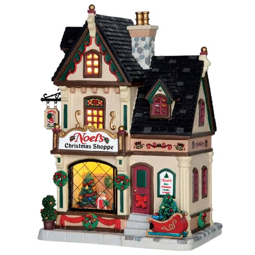 Lemax - Noels Christmas Shoppe (B/O LED)