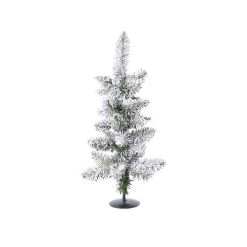 Kaemingk Everlands 45cm Snowy Pencil Tree