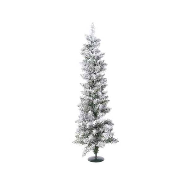 Kaemingk 75cm Snowy Pencil Tree