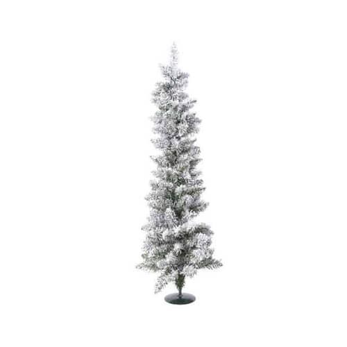 Kaemingk 75cm Snowy Pencil Tree