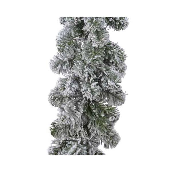 Kaemingk 2.7m Snowy Imperial Garland