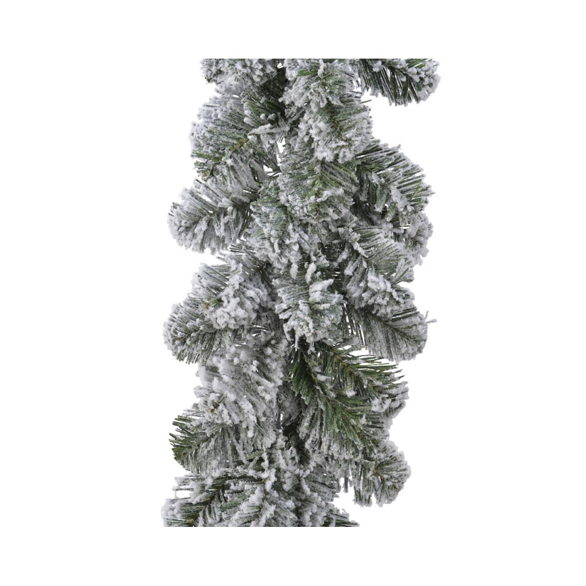 Kaemingk Everlands Snowy Imperial Garland XFull