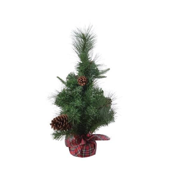 Kaemingk Everlands Mi Needle Mini Tree Tartan Bag