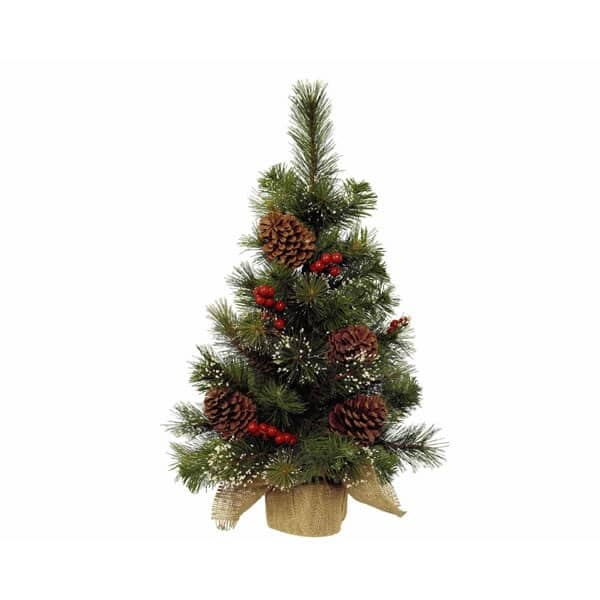 Kaemingk 60cm Mini Tree Berry/Pinecone