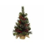 Kaemingk Everlands 60cm Mini Tree Berry/Pinecone