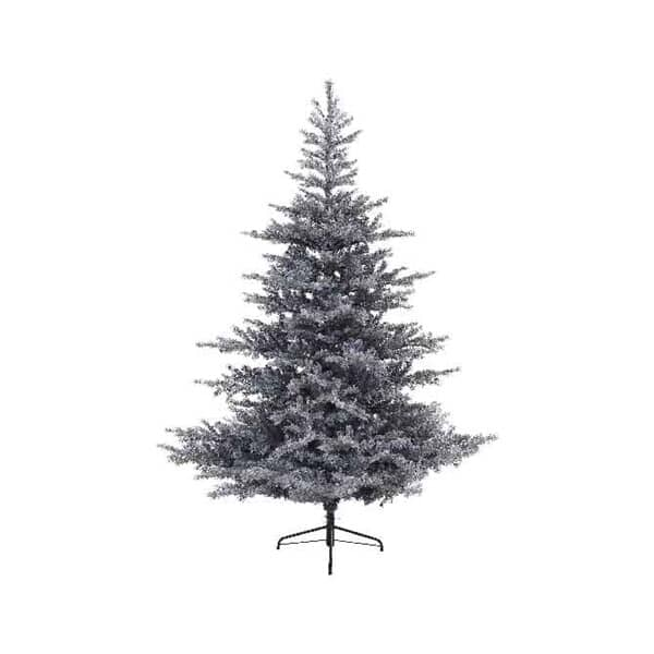 Kaemingk Frosted Grandis Fir 210cm Grey