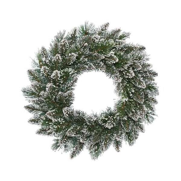 Kaemingk Frosted Finley Wreath