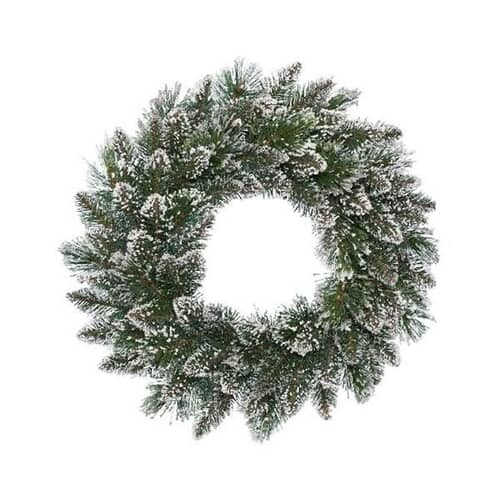 Kaemingk Everlands Frosted Finley Wreath