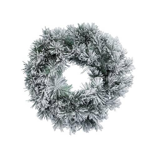 Kaemingk Snowy Vancouver Wreath 50cm
