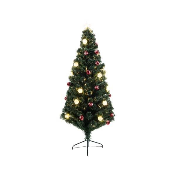 Kaemingk Everlands Londen Fibre Optic Tree 4 Ft