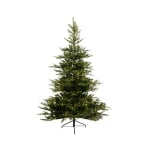 EVERLANDS GRANDIS FIR PRE-LIT CHRISTMAS TREE WITH METAL STAND - 6FT 7FT & 8FT (7FT)
