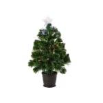 Kaemingk 3ft Burtley Fibre Optic LED Tree