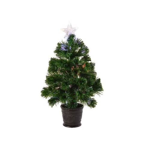 Kaemingk Everlands 3ft Burtley Fibre Optic LED Tree