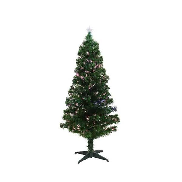 Kaemingk 4ft Burtley Fibre Optic LED Tree