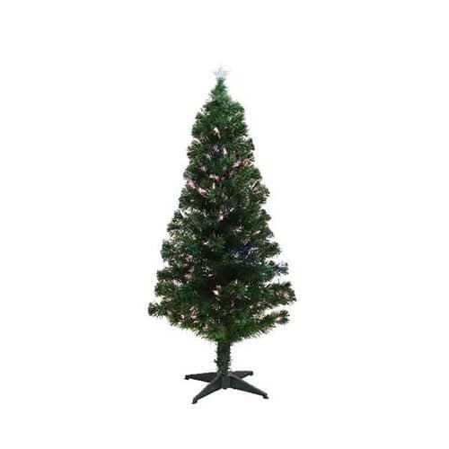 Kaemingk 4ft Burtley Fibre Optic LED Tree