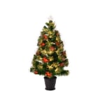 Kaemingk 3ft Alford Fibre Optic LED Tree