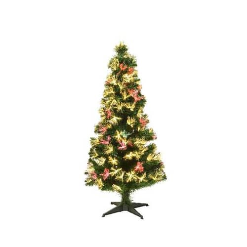 Kaemingk Everlands 4ft Alford Fibre Optic LED Tree