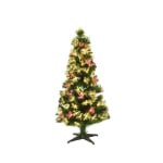 Kaemingk 5ft Alford Fibre Optic LED Tree