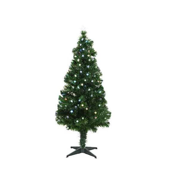 Kaemingk 4ft Prestwick Fibre Optic LED Tree