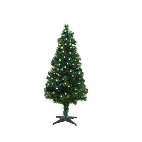 Kaemingk 5ft Prestwick Fibre Optic LED Tree