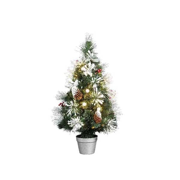 Kaemingk 3ft Morzine Dressed F/O LED Tree