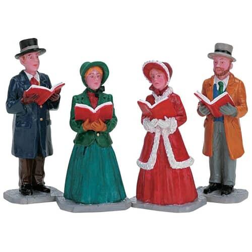 Lemax - Christmas Harmony Set Of 4