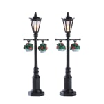 Lemax - Old English Lamp Post Set Of 2 B/O (4.5V)