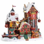 Lemax - Elf Made Toy Factory With 4.5V Adaptor