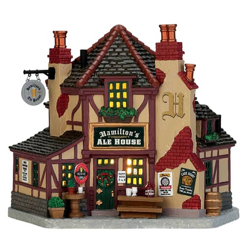 Lemax - Hamiltons Ale House Battery Operated Led