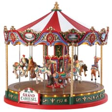Lemax - The Grand Carousel With 4.5V Adaptor