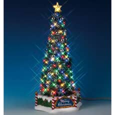 Lemax - New Majestic Christmas Tree Battery Operated (4.5V)