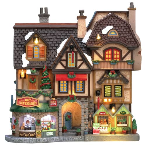 Lemax - River Moors Christmas Street Festival Battery Operated (4.5V)