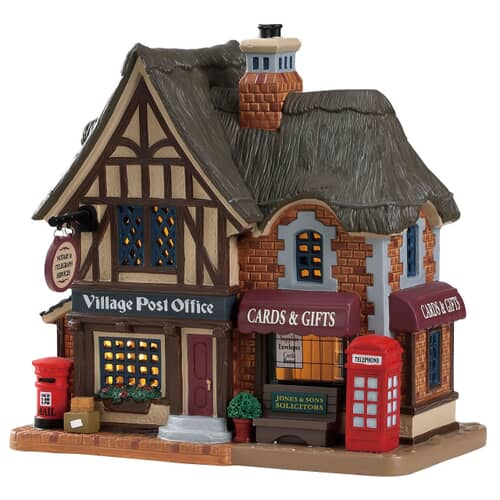 Lemax - Village Post Office Battery Operated Led