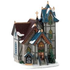Lemax - All Ye Faithful Church Battery Operated Led