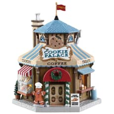 Lemax - The Cookie Palace Battery Operated Led