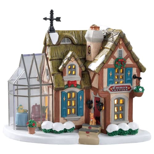 Lemax - Emmas Cottage Battery Operated Led