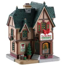 Lemax - The Red Bow Christmas Shoppe Battery Operated Led