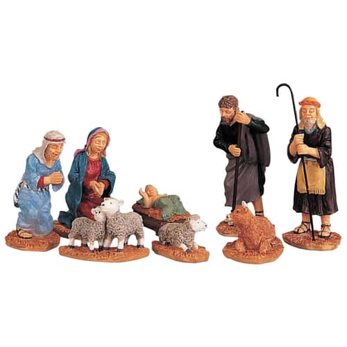 Lemax - Nativity Figurines Set Of 8