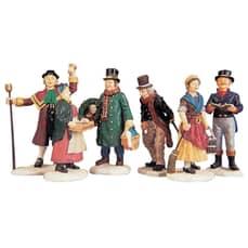 Lemax - Village People Figurinesset Set of 6