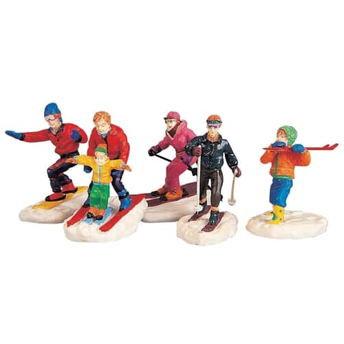 Lemax - Winter Fun Figurines Set Of 5