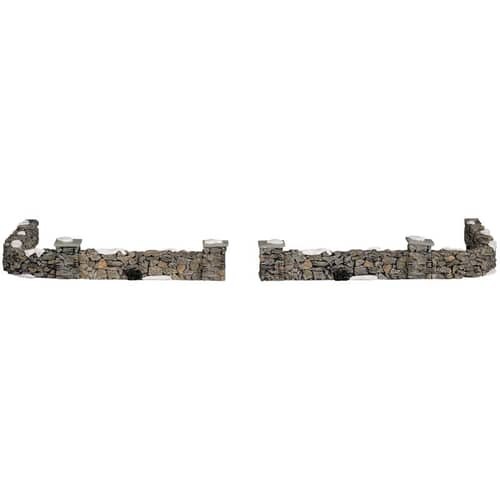 Lemax - Colonial Stone Wall Set Of 10