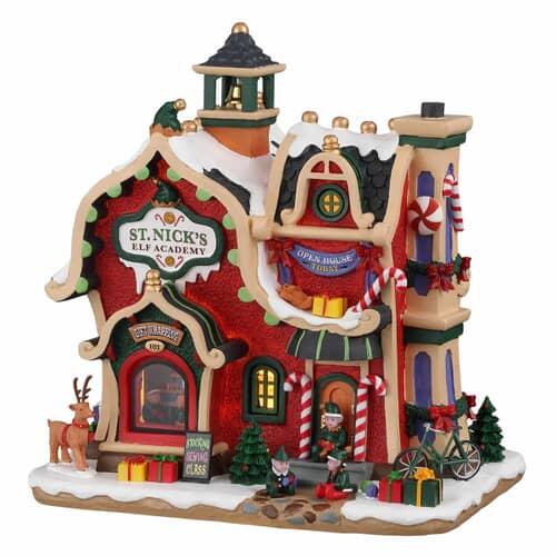 Lemax - St. Nicks Elf Academy Battery Operated (4.5V)