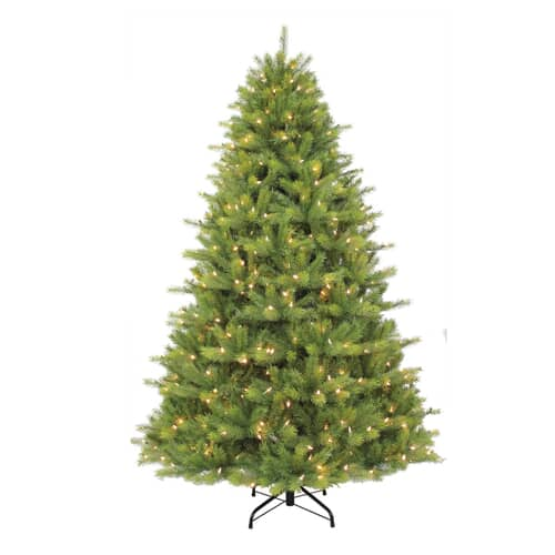 Puleo International Kensington Fir With Warm White LED 225cm 7.5 Ft