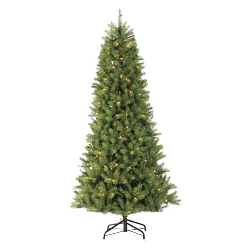 Puleo International Slim Kensington Fir With Warm White LED