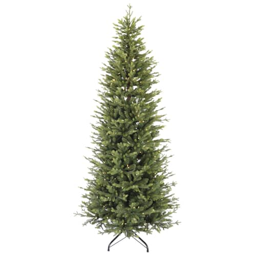 Puleo International Slim Northern Fir 225cm with Warm White LED